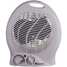Обогреватель тепловентилятор 2 режима 2000 Вт Domotec MS-5902 White