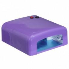 Лампа сушка для ногтей УФ UV Lamp 36W сушилка для маникюра и педикюра с таймером New-818  Purple