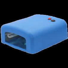 Лампа сушка для ногтей УФ UV Lamp 36W сушилка для маникюра и педикюра с таймером New-818  Blue