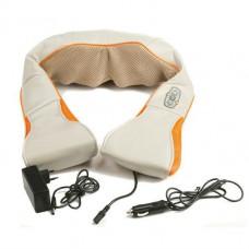 Массажер роликовый для спины и шеи, поясницы 12V 24W  Massager of neck kneading