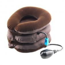 Воротник ортопедический шейный надувной лечебный Ting Pai Brown