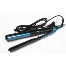 Стайлер утюжок и гофре 2в1 с терморегулятором ProGemei 1961 Black&Blue
