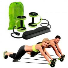 Тренажер для всего тела с 6-ю уровнями тренировки Revoflex Xtreme Green