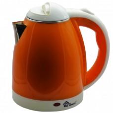 Чайник электрический из нержавеющей стали Domotec MS-5022O Orange