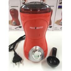 Кофемолка измельчитель PROMOTEC PM-593 70 г 280 Вт Red