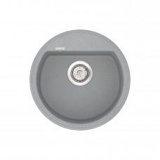 Мойка кухонная кварцевая VANKOR Easy EMR 01.45 Gray stone (Серый камень)