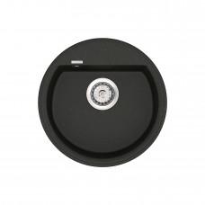 Мойка кухонная кварцевая VANKOR Easy EMR 01.45 Black (Черный)