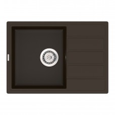 Мойка кухонная кварцевая VANKOR Easy EMP 02.61 Chocolate (Шоколад)