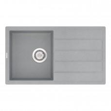Мойка кухонная кварцевая VANKOR Easy EMP 02.76 Gray stone (Серый камень)