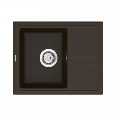 Мойка кухонная кварцевая VANKOR Lira LMP 02.55 Chocolate (Шоколад)