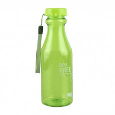Бутылка спортивная для воды BPA Free 650 мл Green