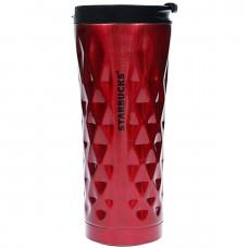 Термос Термокружка Термочашка Тамблер Starbucks Diamond Wave 500 мл Red