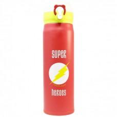 Термос Термокружка Термочашка Super Heroes The Flash Флэш 500 мл Красный