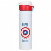 Термос Термокружка Термочашка Super Heroes Captain America Капитан Америка 500 мл Красный