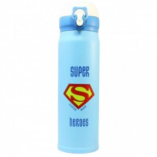 Термос Термокружка Термочашка Super Heroes Superman Супермен 500 мл Красный