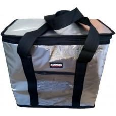 Термосумка на 25 литров, сумка-холодильник Sannen Cooler Bag Silver