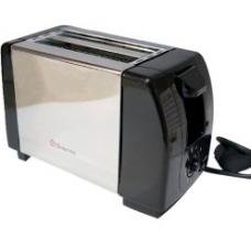 Тостер на 2 отделения с поддоном для крошек Domotec MS-3231 Silver (650 Вт)