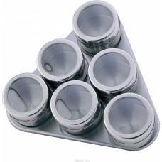 Набор для специй на магнитной подставке 6 шт. Porta Condimento BN-006