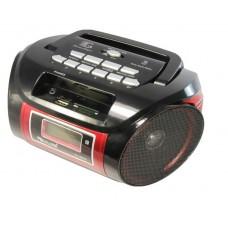 Радиоприемник Магнитофон Бумбокс Колонка с пультом ДУ GOLON RX-662Q Black
