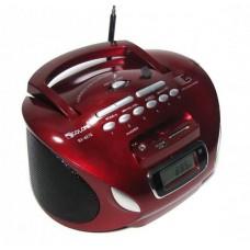 Радиоприемник Магнитофон Бумбокс Колонка с пультом ДУ Golon RX 627Q Красный