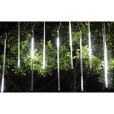 Гирлянда светодиодная штора занавес Тающие Сосулька Белая RGB наружная и внутренняя HLV