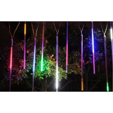 Гирлянда светодиодная штора занавес Тающие Сосулька RGB наружная и внутренняя HLV