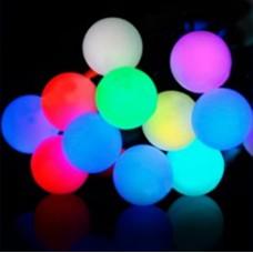 Гирлянда светодиодная HLV Лампочки цоколь 20 LED цветная мульти 3.5 м