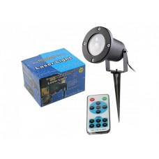 Проектор с пультом ДУ лазерный звездный уличный наружный Star Shower Laser Light 4002