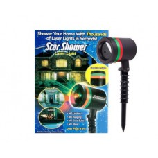 Проектор лазерный звездный уличный наружный Star Shower Laser Light 4001