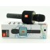 Беспроводной караоке микрофон Charge V8 с работой по Bluetooth, встроенным динамиком и MP3 плеером Black