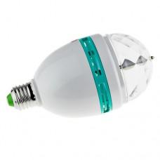 Светодиодная вращающаяся диско-лампа LED Full Color Rotating Е27