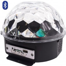 Диско шар LED Crystal Magic Ball Light с Bluetooth