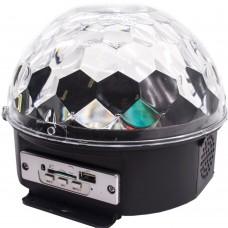Диско шар LED Crystal Magic Ball Light дискошар с пультом (DR)