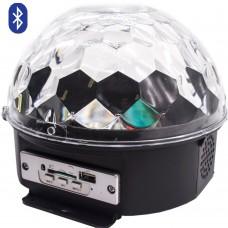 Диско шар Bluetooth  LED Crystal Magic Ball Light дискошар с пультом ДУ (DRB)