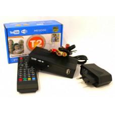 Тюнер Т2 ТВ ресивер DVB-T2 MEGOGO с LCD и поддержкой Wi-Fi