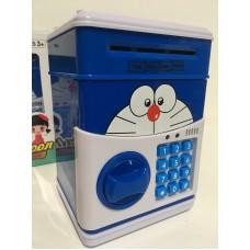 RS-3 Копилка сейф с кодом кодовым замком для монет и бумажных денег детская