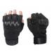 Тактические перчатки Oakley беспалые черные