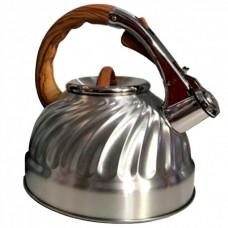 Чайник из нержавеющей стали 3 л со свистком Rainberg RB-628