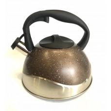 Чайник из нержавеющей стали 3 л со свистком Benson BN-716
