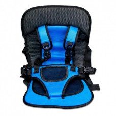 Автокресло автомобильное детское бескаркасное Child car cushion Blue