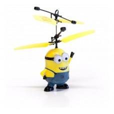 Летающий миньон на пульте управления с сенсорным управлением летающая игрушка Flying Minions