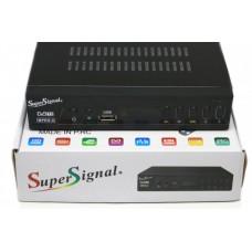 Цифровой Тюнер DVB-T2 ресивер Super Signal