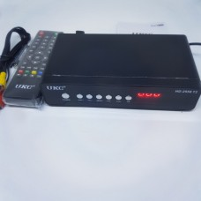 Цифровой Тюнер UKC HD-2558 T2 с просмотром YouTube HDMI USB 2.0 ресивер