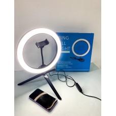 Кольцевая LED лампа с держателем для телефона