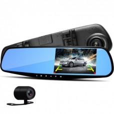 Зеркало Vehicle Blackbox DVR 4.3 inch видеорегистратор и зеркало заднего вида