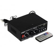 Стерео усилитель звука UKC SN-777BT с Bluetooth, FM, USB, 25 Вт и пультом ДУ