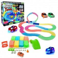 Детский конструктор Magic Tracks 360 деталей с двумя машинками