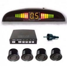 Парктроник с LED дисплеем и 4 датчиками