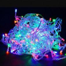 Гирлянда с прозрачным проводом 100 LED 10 м Мульти Prolight Разноцветная