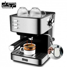 Кофемашина полуавтоматическая с капучинатором DSP KD-3028 850W
